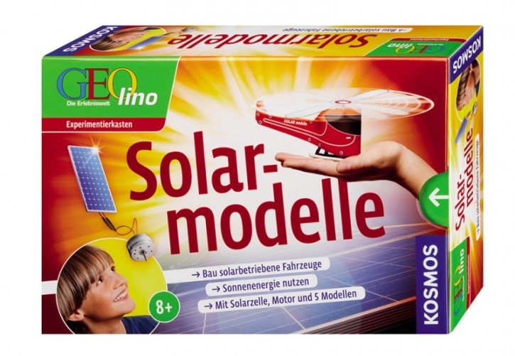 GEOlino Solarmodelle Experimentierkasten