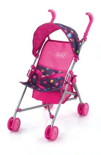 hauck Lief! Puppen-Buggy Mini Stroller Herzen