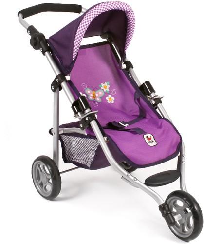 CHIC 2000 Puppen-Jogging Buggy Lola purple 33-62 cm