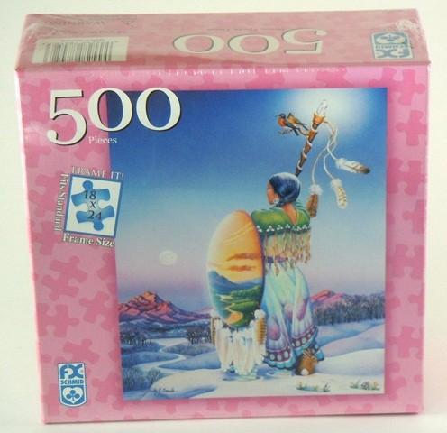 Puzzle 500 Frühlingsbeginn Fantasypuzzle