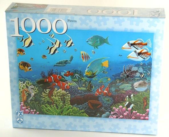Puzzle 1000 Wunder des Meeres Naturpuzzle