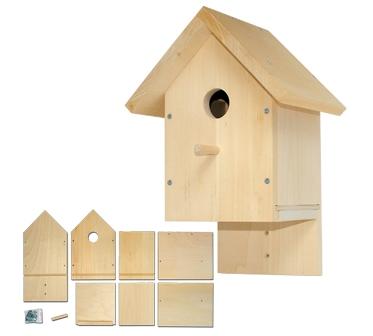 nistkasten bausatz ab 8 jahre geschenke geschenke f r naturliebhaber. Black Bedroom Furniture Sets. Home Design Ideas