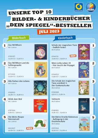 Spiegel-Bestsellerliste Kinderbücher