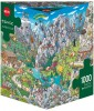 1000 Teile Puzzle