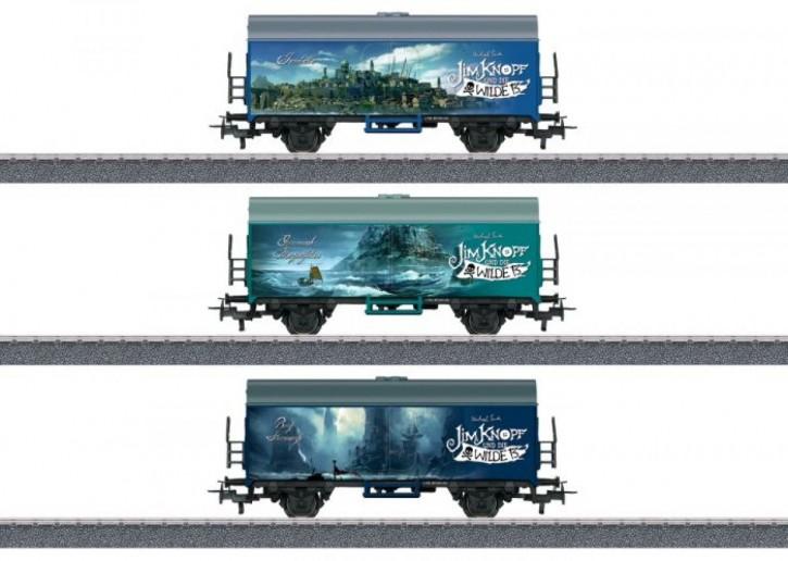 Märklin H0 44821 Jim Knopf Güterwagen-Set Verschiedene Länder