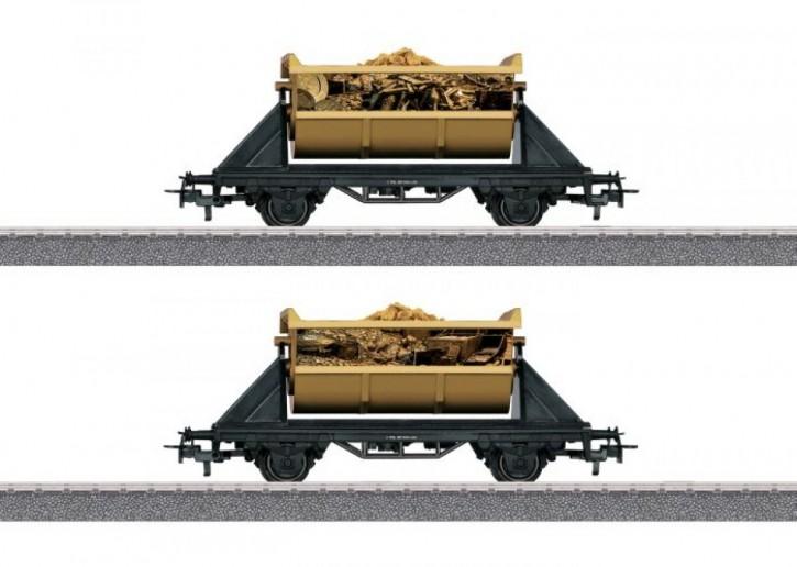 Märklin H0 44822 JimKnopf Güterwagen-Set Piratenschatz