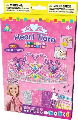 Sticky Mosaics: Heart Tiara funkelndes Diadem