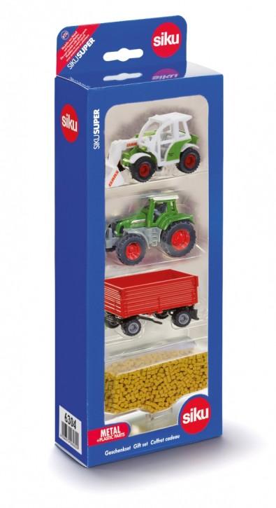 SIKU 6304 Geschenkset Landwirtschaft B-Ware OVP