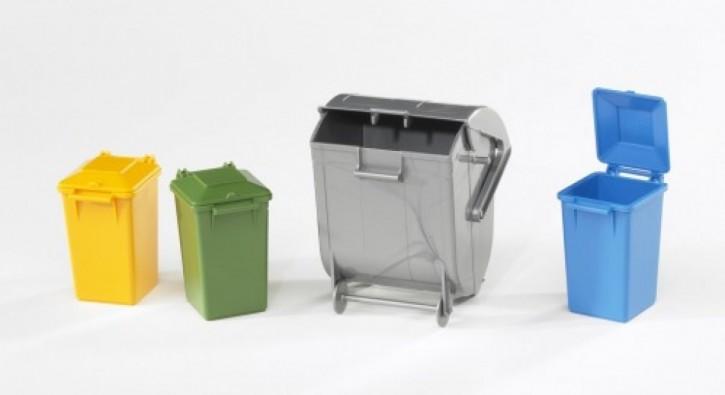 Bruder 02607 Mülltonnen-Set
