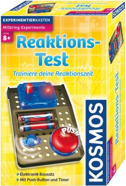 KOSMOS Reaktions-Test Mitbring-Experimente B-Ware OVP