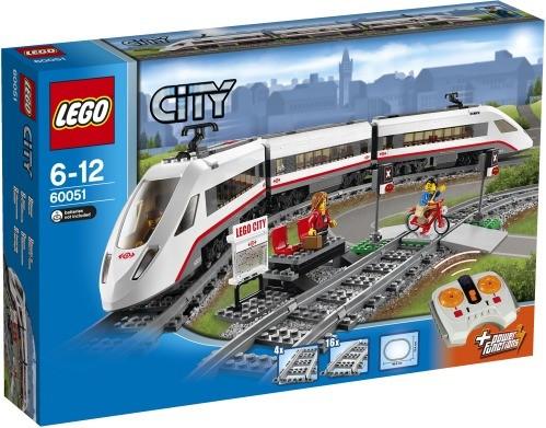 LEGO City Trains 60051 Hochgeschwindigkeitszug