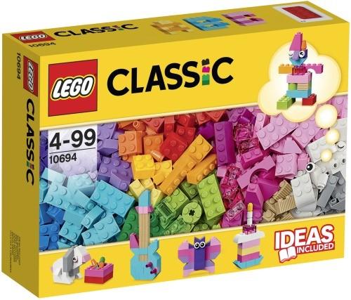 LEGO Classic 10694 Baustein-Ergänzungsset Pastelltöne