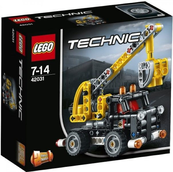 Lego technic 42031 Hubarbeitsbühne B-Ware