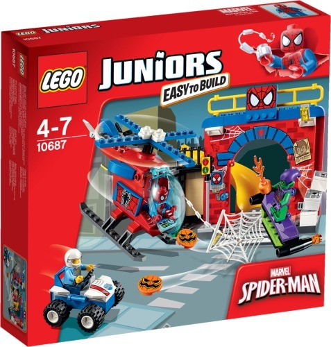 LEGO® Juniors 10687 Spider-Man Versteck