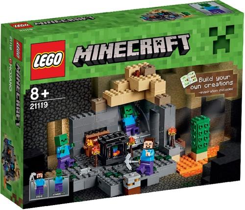 LEGO Minecraft 21119 Das Verlies