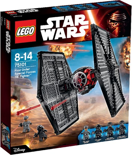 LEGO Star Wars 75101 First Order Special Forces TIE Fighter B-Ware