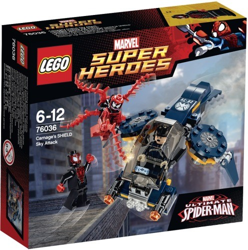 LEGO Marvel Super Heroes 76036 Carnages Attacke auf SHIELD