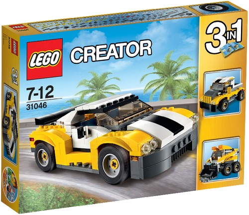 LEGO Creator 31046 Schneller Sportflitzer B-Ware OVP