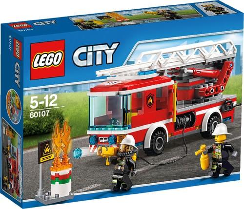 LEGO City 60107 Feuerwehrfahrzeug mit fahrbarer Leiter B-Ware OVP