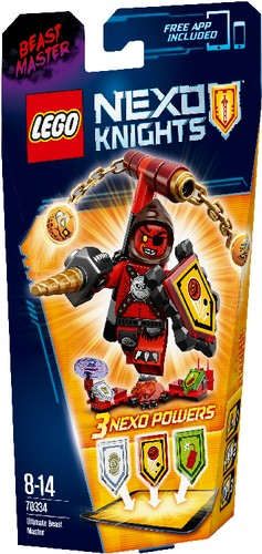 LEGO Nexo Knights 70334 ULTIMATIVER Monster Meister B-Ware OVP