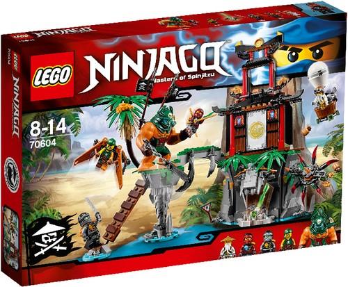 LEGO NINJAGO 70604 Schwarze Witwen Insel B-Ware