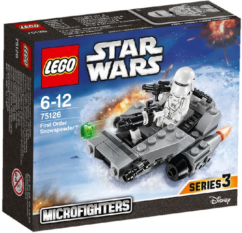 LEGO Star Wars 75126 Microfighter First Order Snowspeeder
