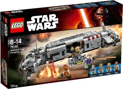 LEGO Star Wars 75140 Resistance Troop Transporter B-Ware OVP