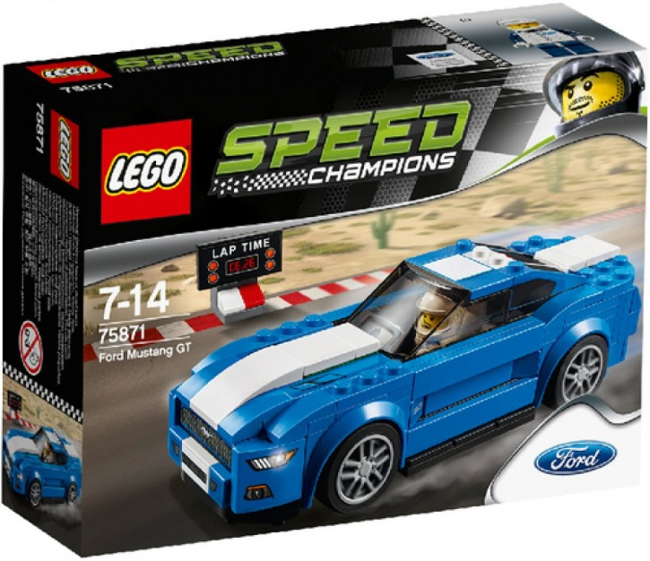 LEGO Speed Champions 75871 Speed Ford Mustang GT B-Ware