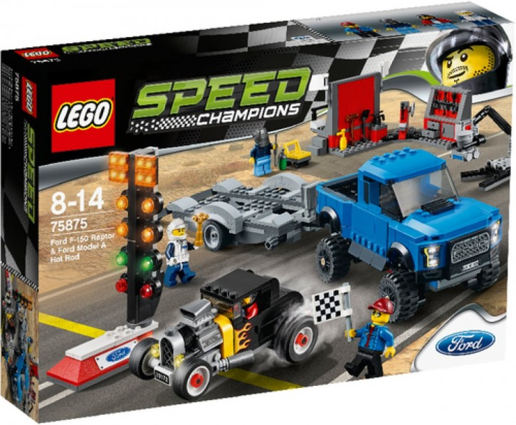 LEGO Speed Champions 75875 Speed Ford F 150 Raptor & Ford Model A H