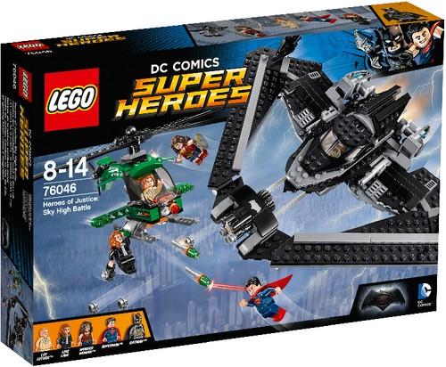 LEGO DC Universe Super Heroes 76046 Helden der Gerechtigkeit B-Ware OVP
