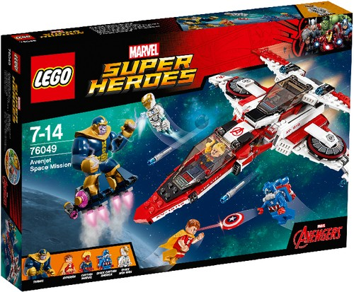 LEGO Marvel Super Heroes 76049 Avenjet Weltraummission B-Ware