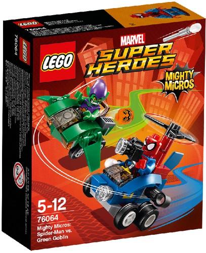 LEGO Marvel Super Heroes 76064 Spider-Man vs. Green Goblin
