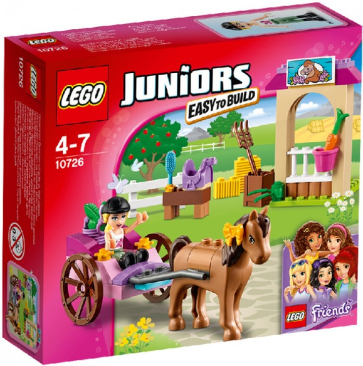 Lego® Juniors 10726 Stephanies Pferdekutsche