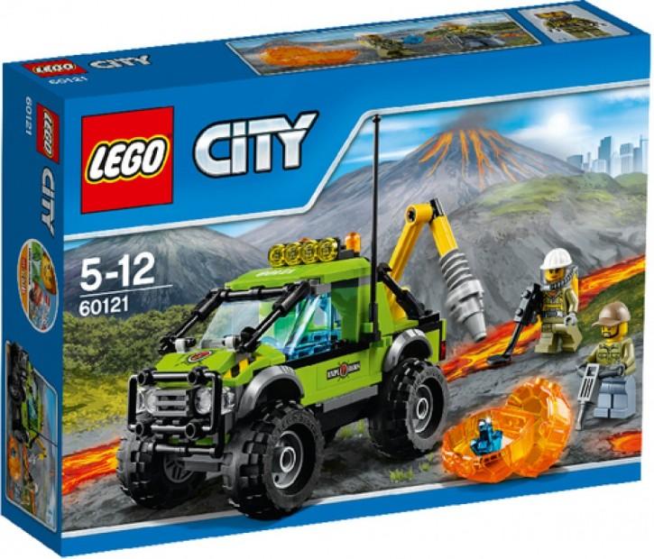 Lego  60121 City Vulkan-Forschungstruck B-Ware ungeöffnete OVP