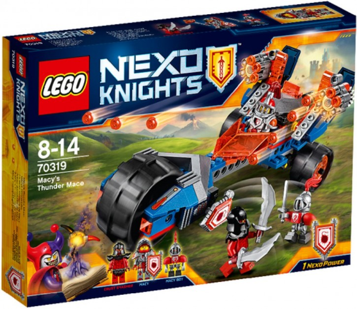 LEGO® Nexo Knights 70319 Macys Donnerbike B-Ware