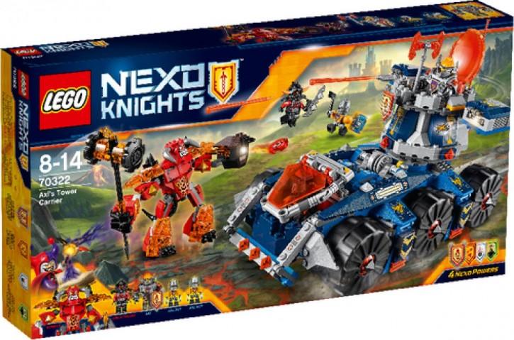 LEGO® Nexo Knights 70322 Axls mobiler Verteidigungsturm B-Ware OVP