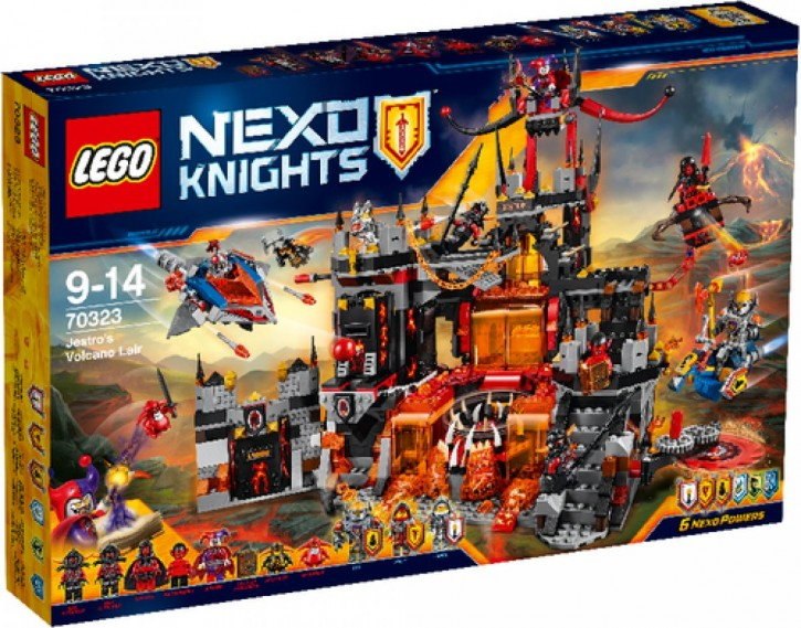 LEGO® Nexo Knights 70323 Jestros Vulkanfestung B-Ware OVP