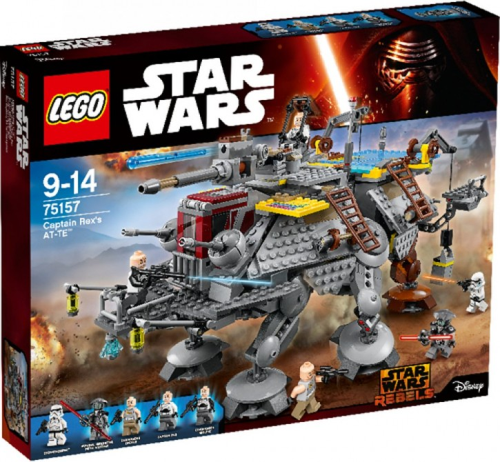 Lego SW 75157 Captain Rexs AT-TET