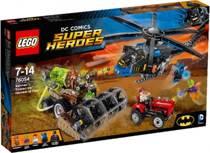 Lego 76054 DC SH Batman Scarecrows gefährliche Ernte B-Ware OVP
