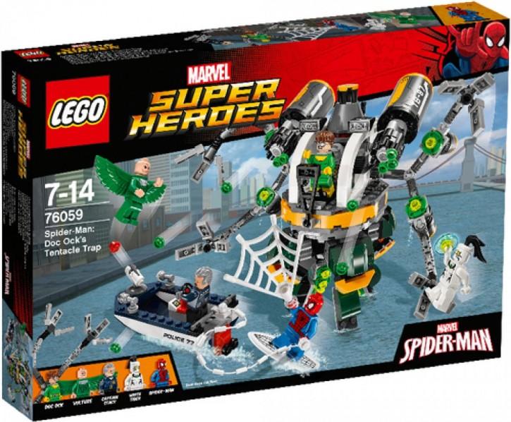 Lego 76059 Marvel SH Spider-Man Doc Ocks Tentakelfalle
