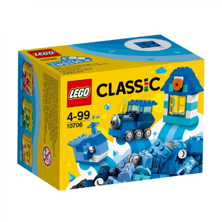 LEGO 10706 Classic Kreativ-Box Blau B-Ware OVP