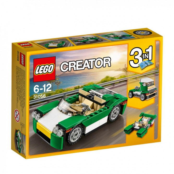 LEGO 31056 Creator Grünes Cabrio B-Ware OVP