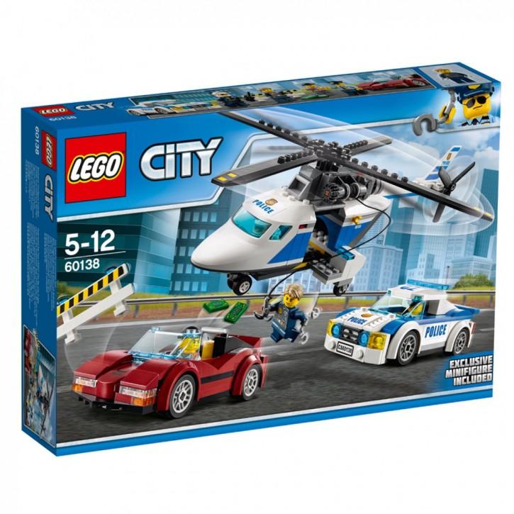 LEGO 60138 City Rasante Verfolgungsjagd B-Ware