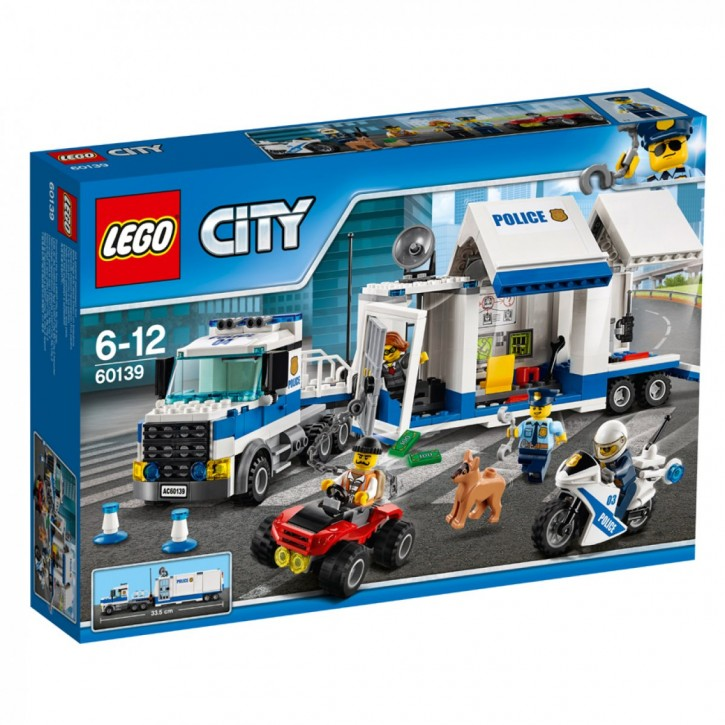 LEGO 60139 City Mobile Einsatzzentrale