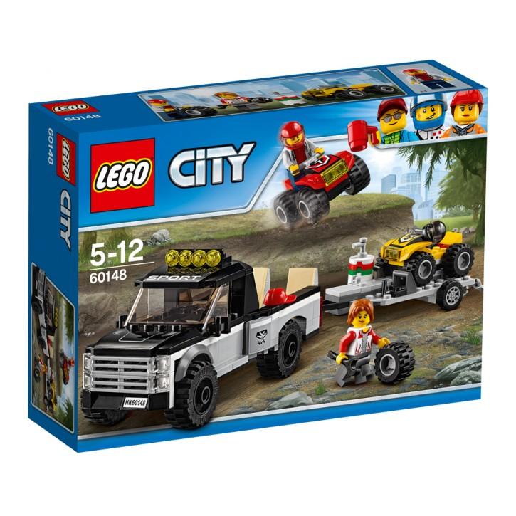 LEGO 60148 City Quad-Rennteam B-Ware OVP