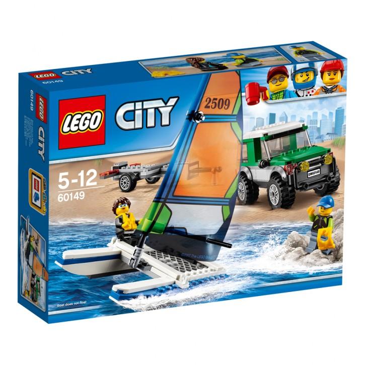 LEGO 60149 City Geländewagen mit Katamaran B-Ware OVP