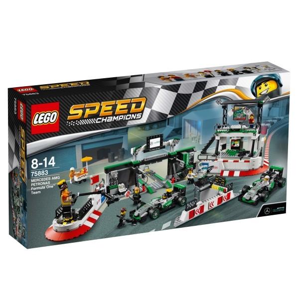 LEGO 75883 Speed MERCEDES AMG PETRONAS Formel-1 Team B-Ware OVP