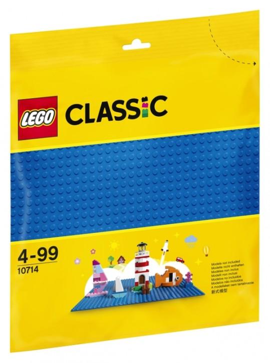 10714 LEGO® Classic Blaue Bauplatte 25x25cm