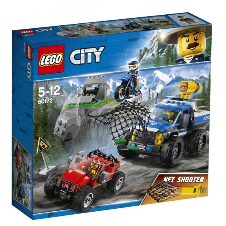 60172 LEGO® City Verfolgungsjagd auf Schotterpisten B-Ware OVP
