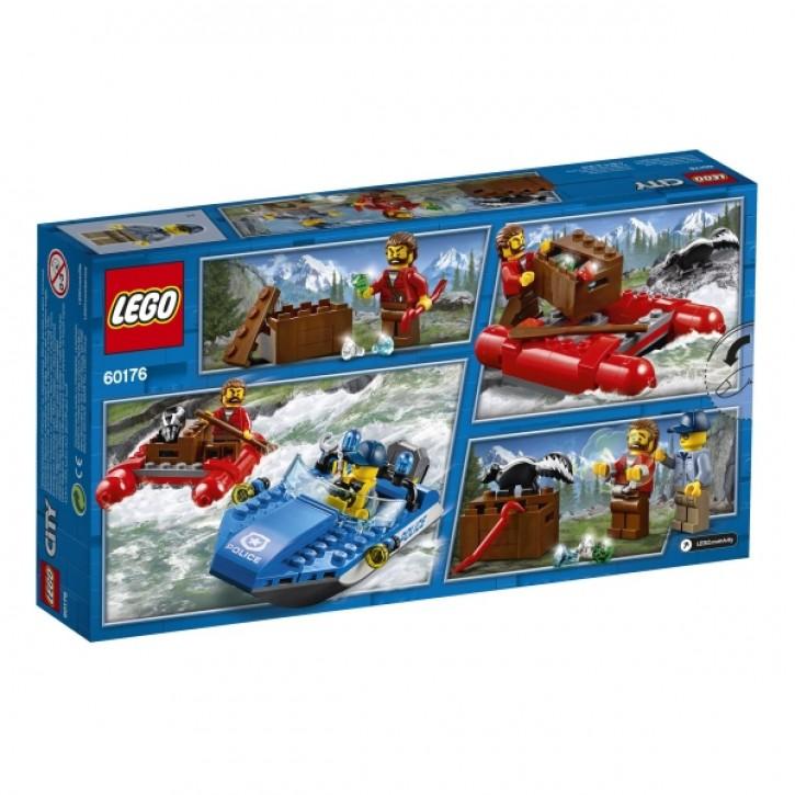 60176 LEGO® City Flucht durch die Stromschnellen B-Ware OVP